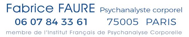 Psychanalyse Corporelle Paris